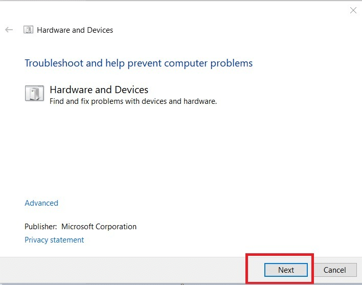 click Next   Fix USB Keeps Disconnecting and Reconnecting